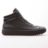 Scott - Black - Calf Grain & Mat Leather - BUB Leather Shoes