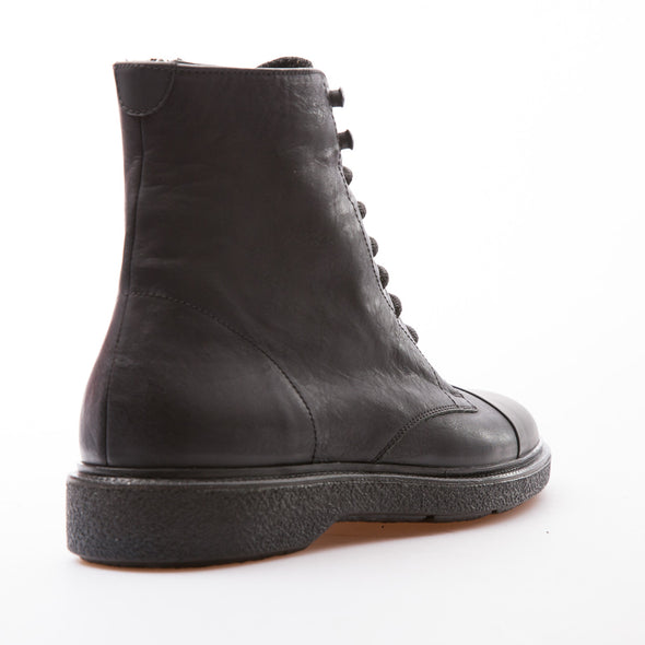 Philippe - Black - Calf Vintage Leather - BUB Leather Shoes