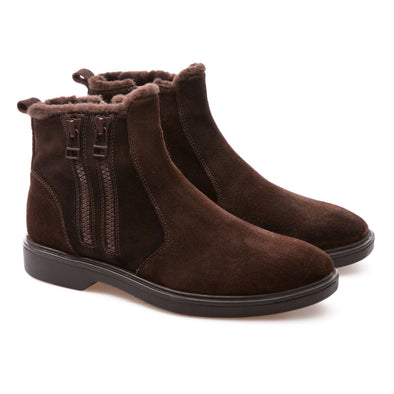 Mark - Brown - Waxy Suede - BUB Leather Shoes