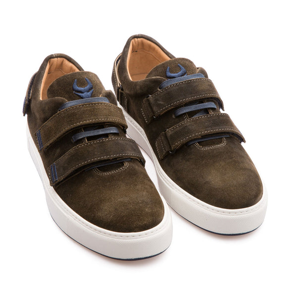 Cain - Khaki - Waxy Suede - BUB Leather Shoes