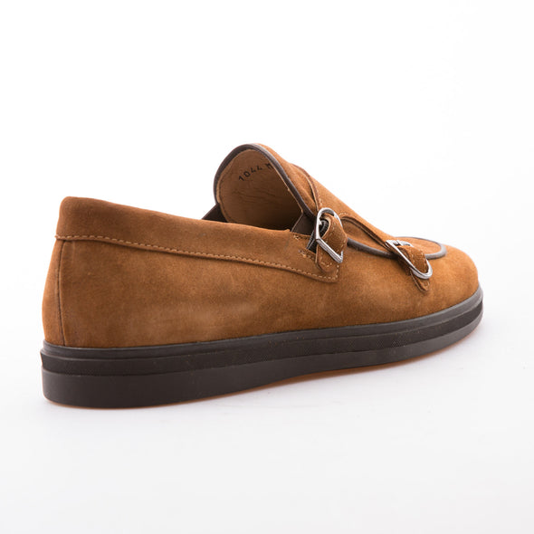Raven - Tobacco - Waxy Suede - BUB Leather Shoes