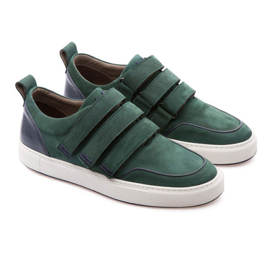 Dax - Duck Green - Calf Nubuck - BUB Leather Shoes