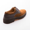 Vincent - Tobacco & Brown - Calf Suede & Vintage Leather - BUB Leather Shoes