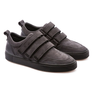 Dax - Anthracite - Calf Nubuck - BUB Leather Shoes