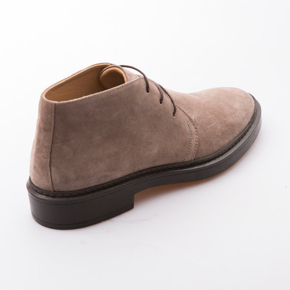Andrew - Mink - Waxy Suede - BUB Leather Shoes