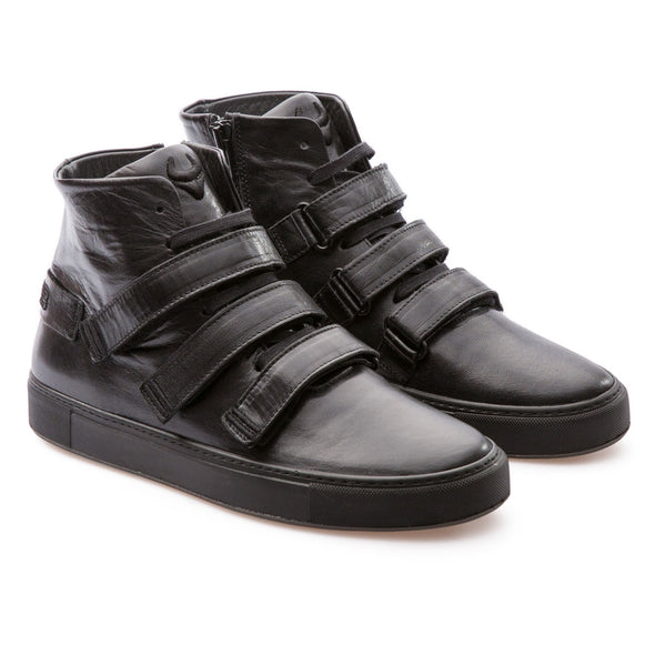 Haze - Black - Shiny Leather - BUB Leather Shoes