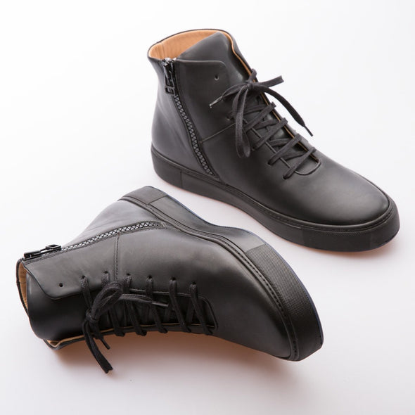 Hammer - Black - Leather - BUB Leather Shoes