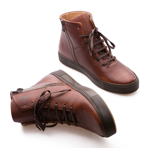 Hammer - Tobacco - Leather - BUB Leather Shoes