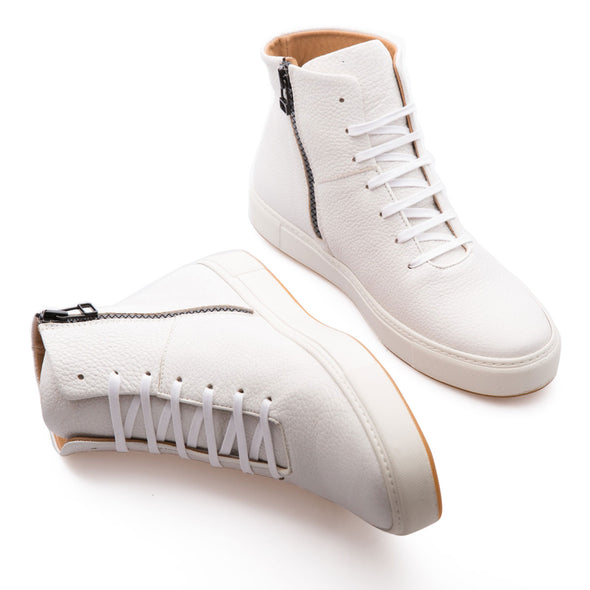 Hammer - White - Leather - BUB Leather Shoes