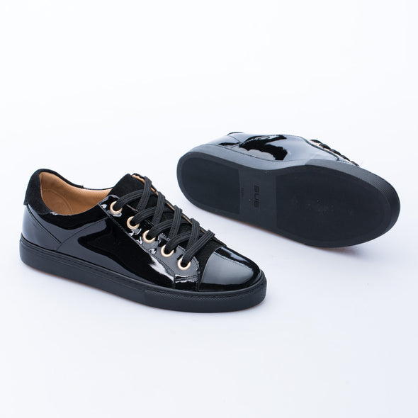 Cecilia - Black - Patent Leather - BUB Leather Shoes