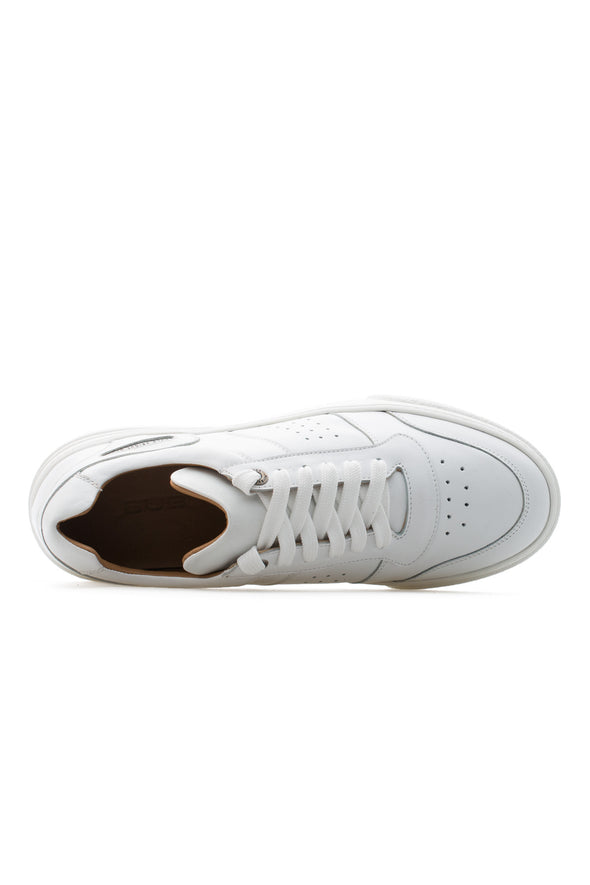 BUB Cray - Pure White - Calf Leather - Women's Sneakers
