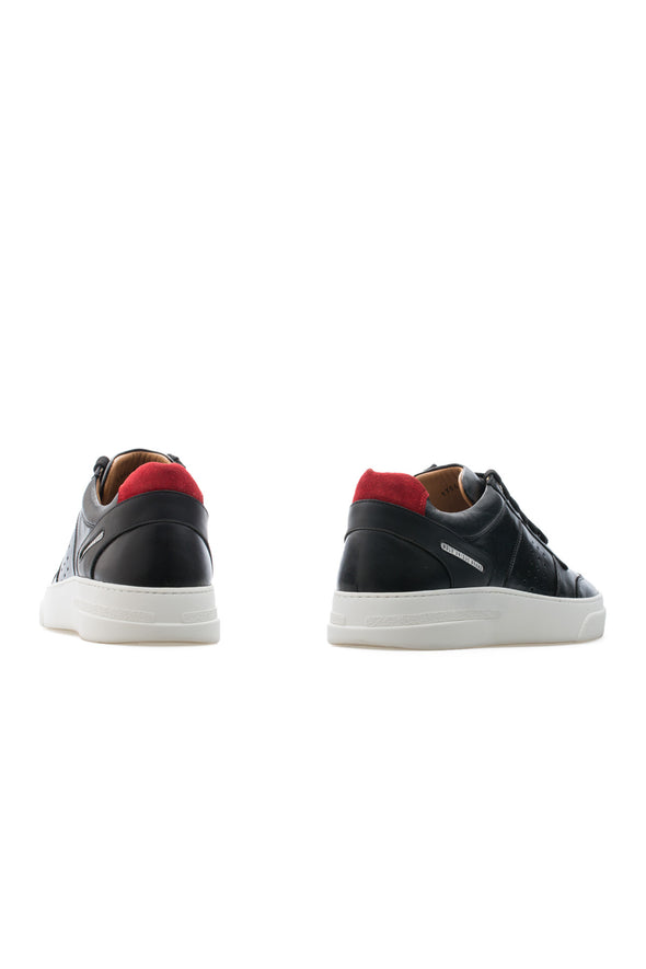 BUB Cray - Black Star - Calf Leather - Women's Sneakers