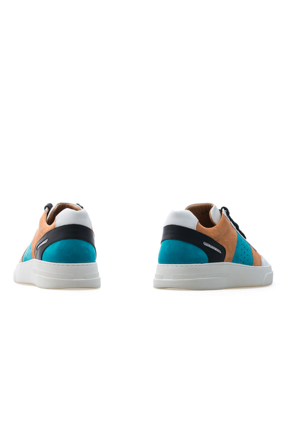 BUB Cray - Hawai Sunset - Suede & Nubuck & Leather - Men's Sneakers - BUB Leather Shoes