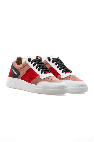 BUB Cray - Mixed Berry Cocktail - Suede & Nubuck & Leather - Women's Sneakers