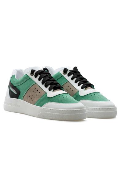 BUB Cray - Spearmint - Suede & Nubuck & Calf Leather - Men's Sneakers