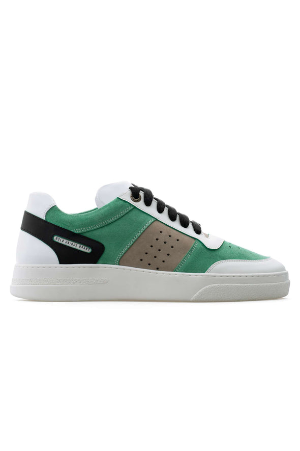 BUB Cray - Spearmint - Suede & Nubuck & Calf Leather - Women's Sneakers