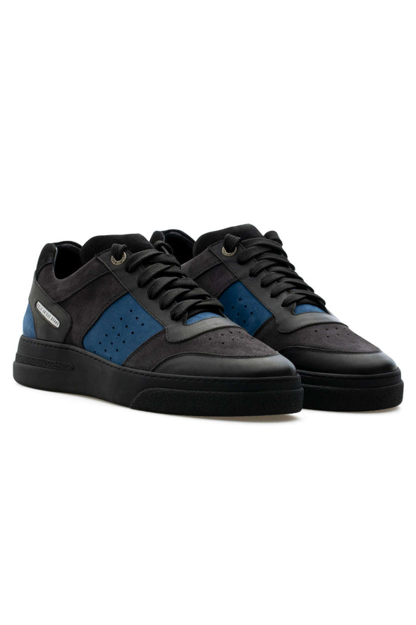 BUB Cray - Charcoal - Suede & Nubuck & Calf Leather - Men's Sneakers