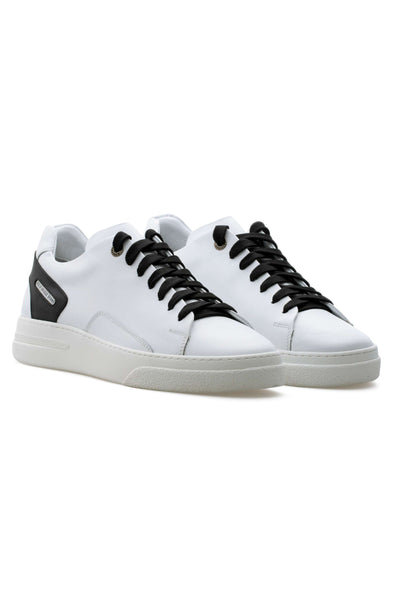 BUB Fleek - Panda - Calf Leather - Women's Sneakers