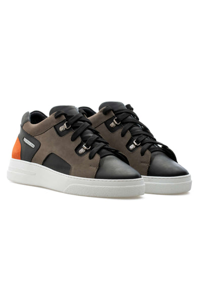 BUB Lewk - Fall Amber - Nubuck & Calf leather & Suede - Women's Sneakers