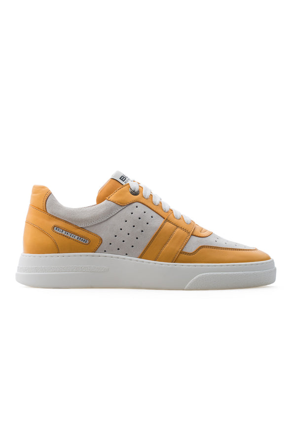 BUB Skywalker - Yellow Mellow - Calf Leather & Suede - Men's Sneakers - BUB Leather Shoes