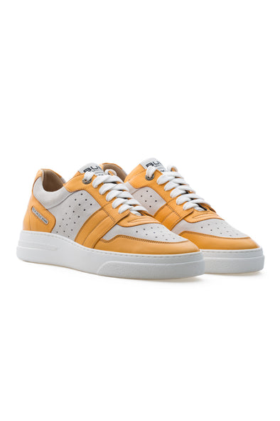 BUB Skywalker - Yellow Mellow - Calf Leather & Suede - Women's Sneakers
