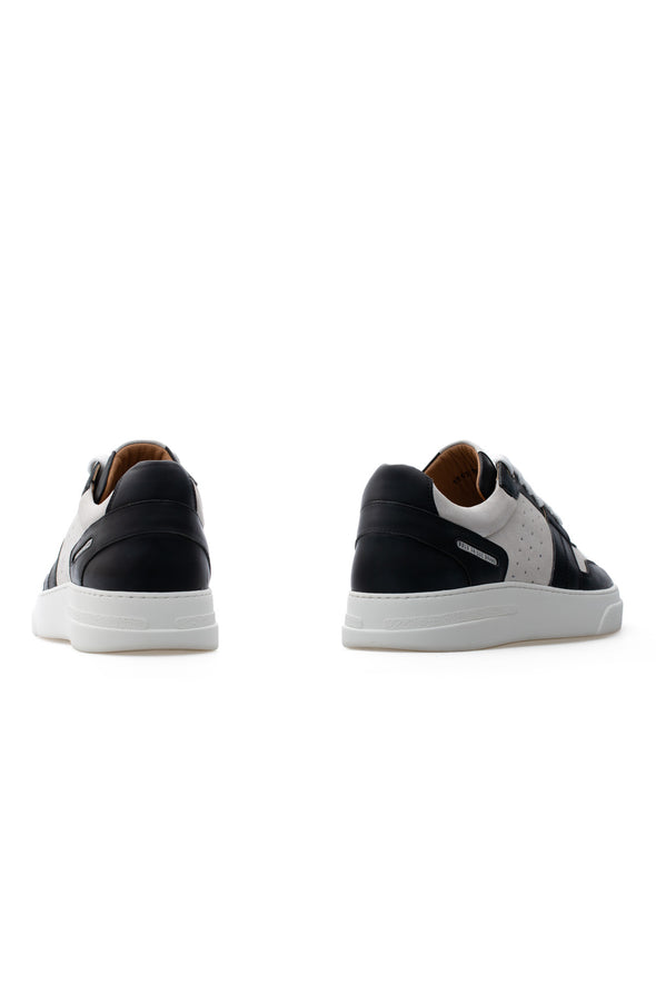 BUB Skywalker - Coal & Ash - Calf Leather & Suede - Women's Sneakers