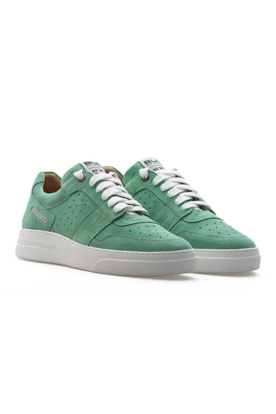 BUB Skywalker - Retro Green - Suede - Women's Sneakers