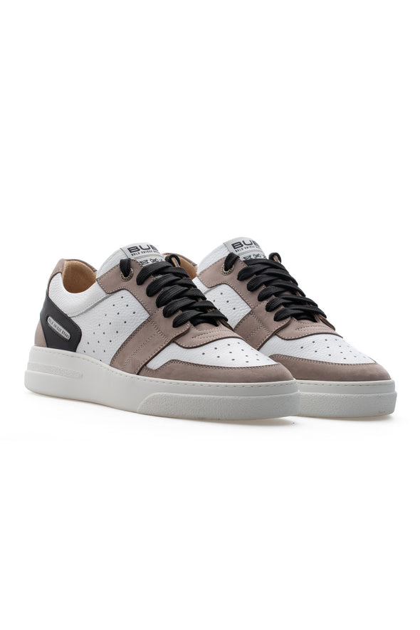 BUB Skywalker - Angry Mink - Nubuck & Calf Leather - Men's Sneakers - BUB Leather Shoes