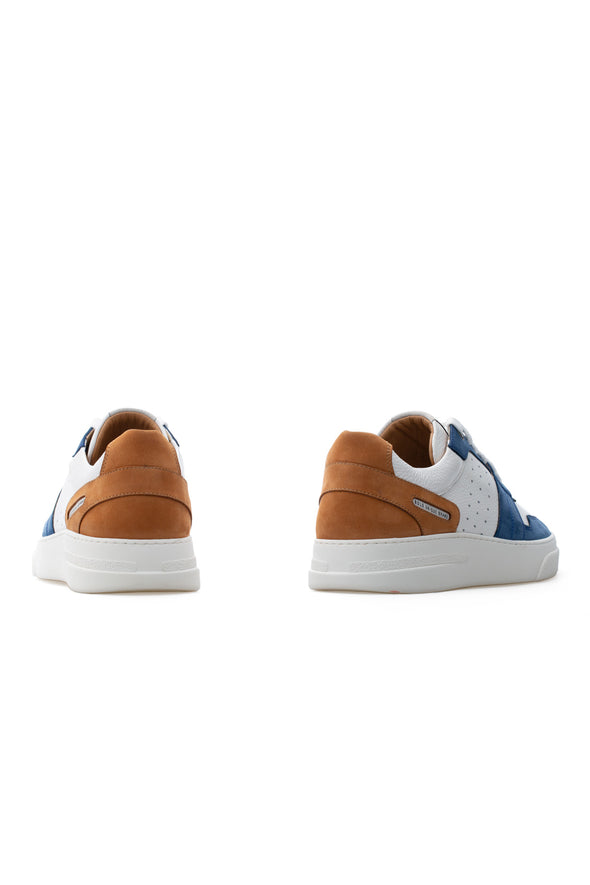 BUB Skywalker - Sailor - Nubuck & Calf Leather - Men's Sneakers - BUB Leather Shoes