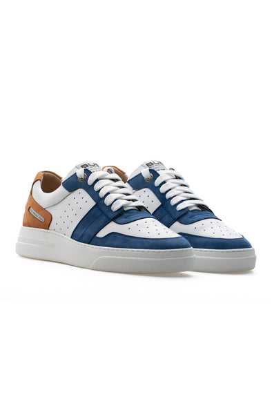 BUB Skywalker - Sailor - Nubuck & Calf Leather - Women's Sneakers