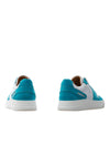 BUB Skywalker - Turquoise & White - Nubuck & Calf Leather - Women's Sneakers