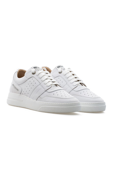 BUB Skywalker - Cotton White - Nubuck - Men's Sneakers - BUB Leather Shoes
