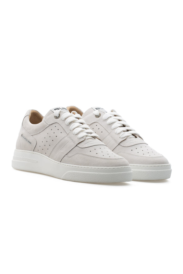 BUB Skywalker - Light Cream - Suede - Women's Sneakers