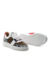 BUB Skywalker - Wild Leo - Calf Hair & Leather & Suede - Men's Sneakers - BUB Leather Shoes