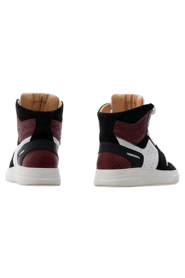 BUB Skywalker - Cleveland - Nubuck & Calf Grain Leather - Women's Sneakers