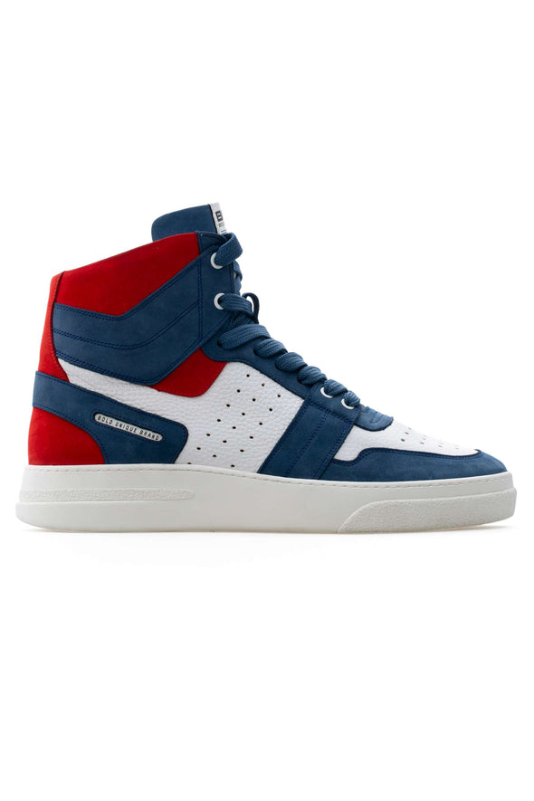 BUB Skywalker - Captain America - Nubuck & Calf Leather - Men's Sneakers