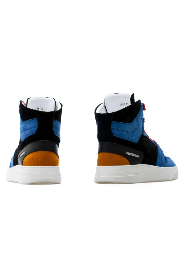 BUB Skywalker - Spiderman - Nubuck & Calf Leather & Suede - Women's Sneakers