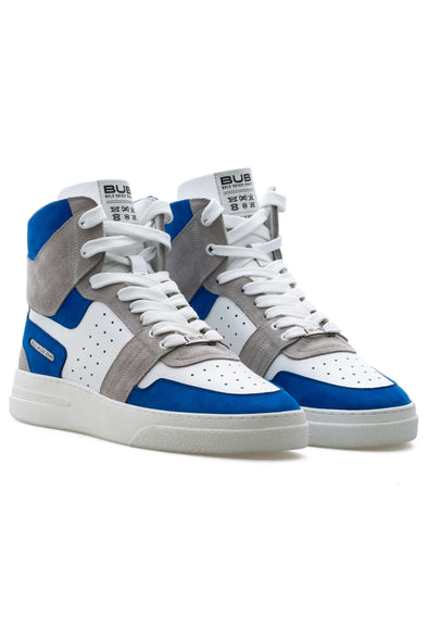 BUB Skywalker - King Blue - Nubuck & Suede & Calf Leather - Women's Sneakers