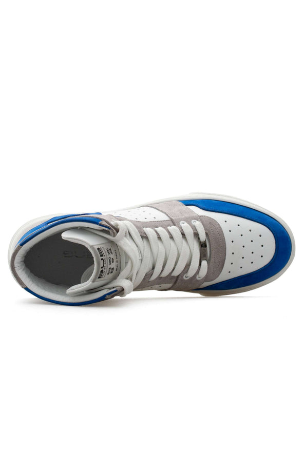 BUB Skywalker - King Blue - Nubuck & Suede & Calf Leather - Men's Sneakers