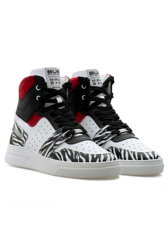 BUB Skywalker - Wild Ivy  - Calf Leather (Printed) & Suede - Men's Sneakers
