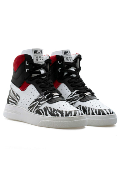 BUB Skywalker - Wild Ivy - Calf Leather (Printed) & Suede - Women's Sneakers
