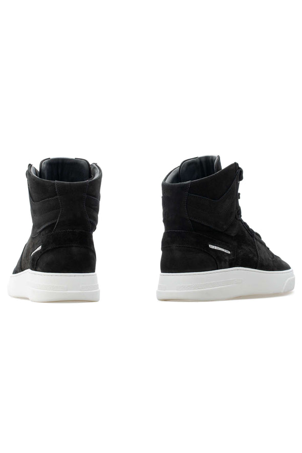 BUB Skywalker - Deep Black - Nubuck - Men's Sneakers