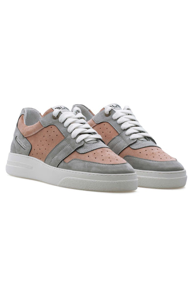 BUB Skywalker - Ruby - Nubuck & Suede - Women's Sneakers