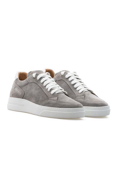 BUB Trill - Stone - Suede - Men's Sneakers - BUB Leather Shoes