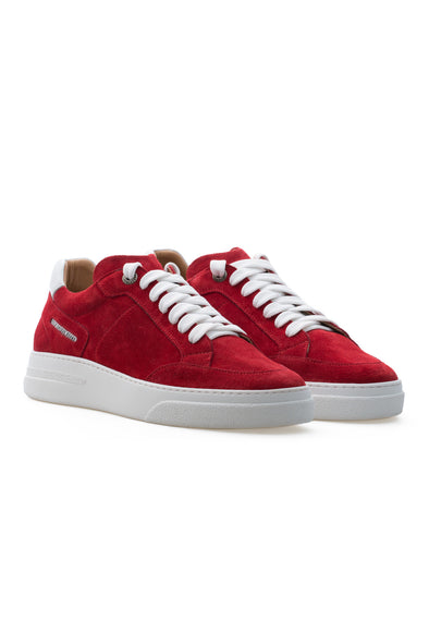 BUB Trill - Bloody Red - Suede - Women's Sneakers