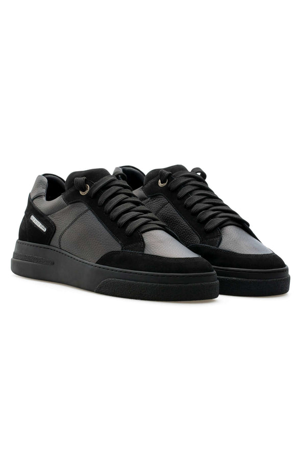 BUB Trill - Nuite - Nubuck & Calf Grain Leather - Men's Sneakers