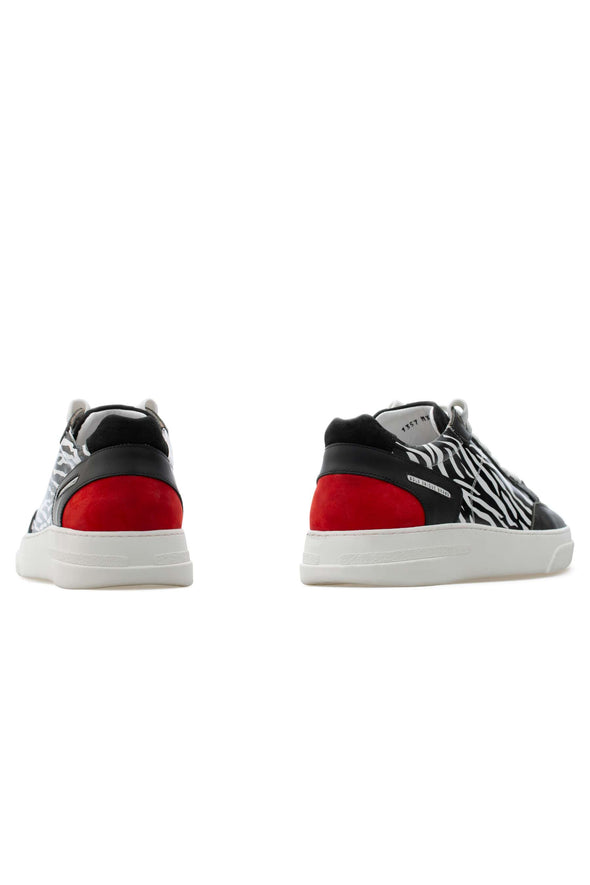 BUB Trill - Rabari - Calf Leather (Printed) & Suede & Nubuck - Women's Sneakers
