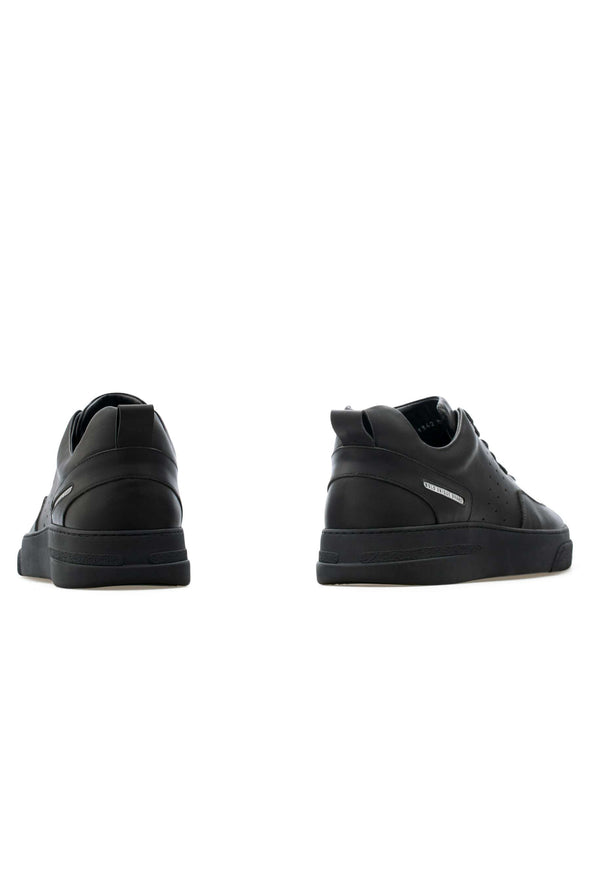 BUB Woke - Just Black - Calf Leather - Men's Sneakers