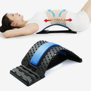 Premium Back Stretcher And Massager
