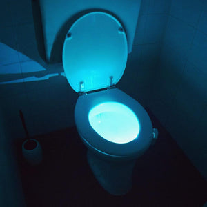 Motion Activated LED Toilet Light